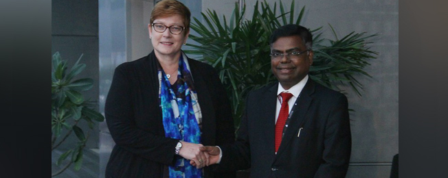 Visit of Australian Foreign Minister to India (15-16 January, 2020)