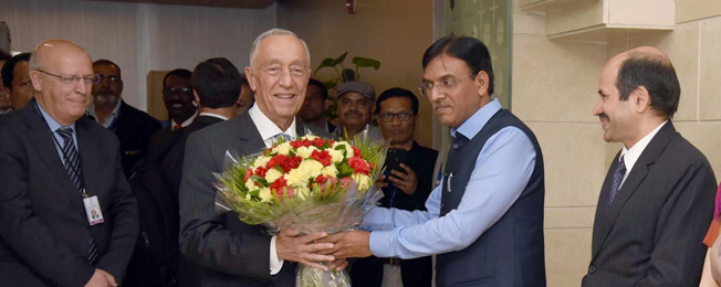 State Visit of President of Portugal to India (February 13-16, 2020)