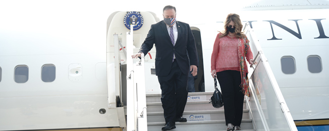 Visit of Secretary of State of USA to India for 2+2 Ministerial Dialogue (October 26-27, 2020)