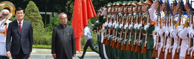 Visit of President to Vietnam (September 14-17, 2014)