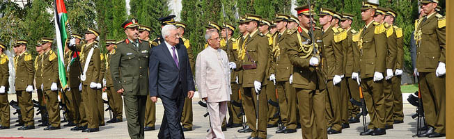 State Visit of President to Palestine (October 12-13, 2015)