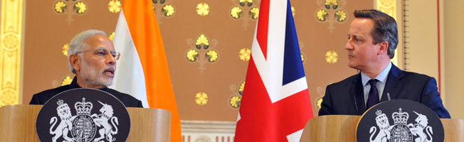 Visit of Prime Minister to UK (November 12-14, 2015)