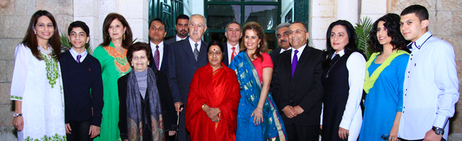 Visit of External Affairs Minister to Israel (January 17- 18, 2016)