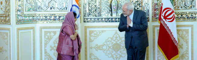 Visit of External Affairs Minister to Iran (April 16-17, 2016)