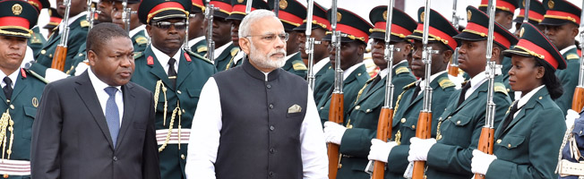 Visit of Prime Minister to Mozambique (July 07, 2016)