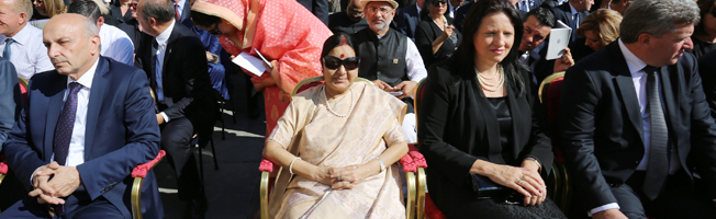 Visit of External Affairs Minister to Italy (September 02-05, 2016)