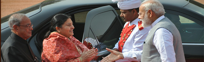 State Visit of President of Nepal to India (April 17-21, 2017)