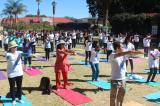 Second International Day of Yoga celebrated in Windhoek, Namibia