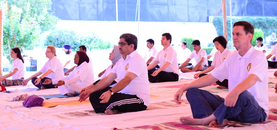 3rd International Day of Yoga celebrated in Islamabad