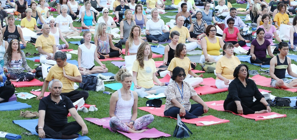 Celebrating International Day of Yoga-2017 at the UN