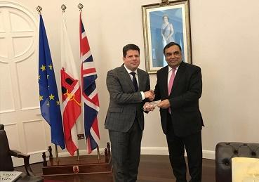 High Commissioner's visit to Gibraltar from 16th to 18th February 2018 (United Kingdo...