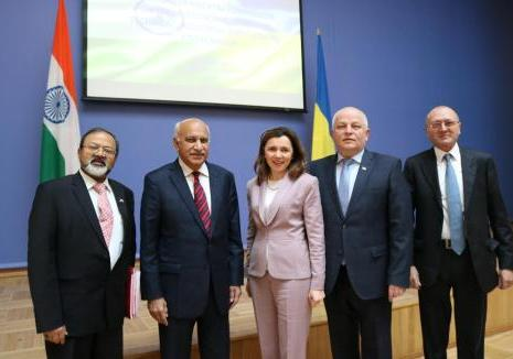 On 16 April 2018, Ambassador of India to Ukraine, H.E. Mr. Manoj K. Bharti attended o...