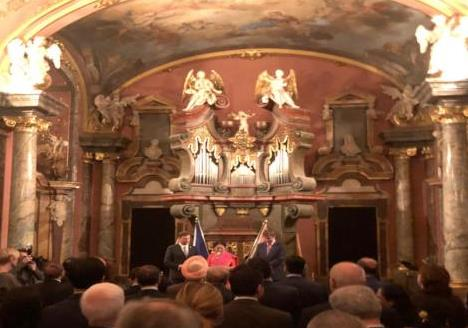 Czech Foreign Minister announces new initiatives with India during the address at the Republic Day Reception in Prague organized by Indian Ambassador