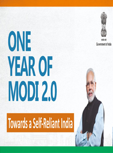 1 Year of Modi 2.0
