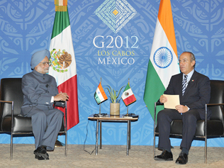 PM's visit to Mexico (G-20) and Brazil (Rio+20)