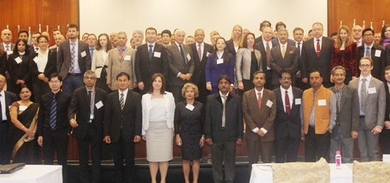 Group Photo at Implementation and Assessment Group Meeting of the Global Initiative to Combat Nuclear Terrorism (GICNT), New Delhi