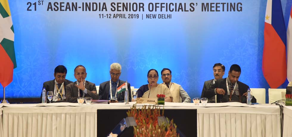 21st ASEAN-India Senior Officials' Meeting takes place in New Delhi