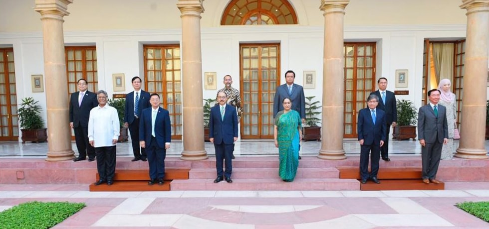 Foreign Secretary and Secretary (East) meet Ambassadors of ten ASEAN countries in New Delhi