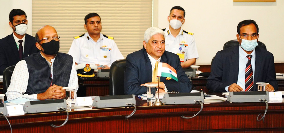 Secretary (West) at the First India-Maldives Counter Terrorism Dialogue