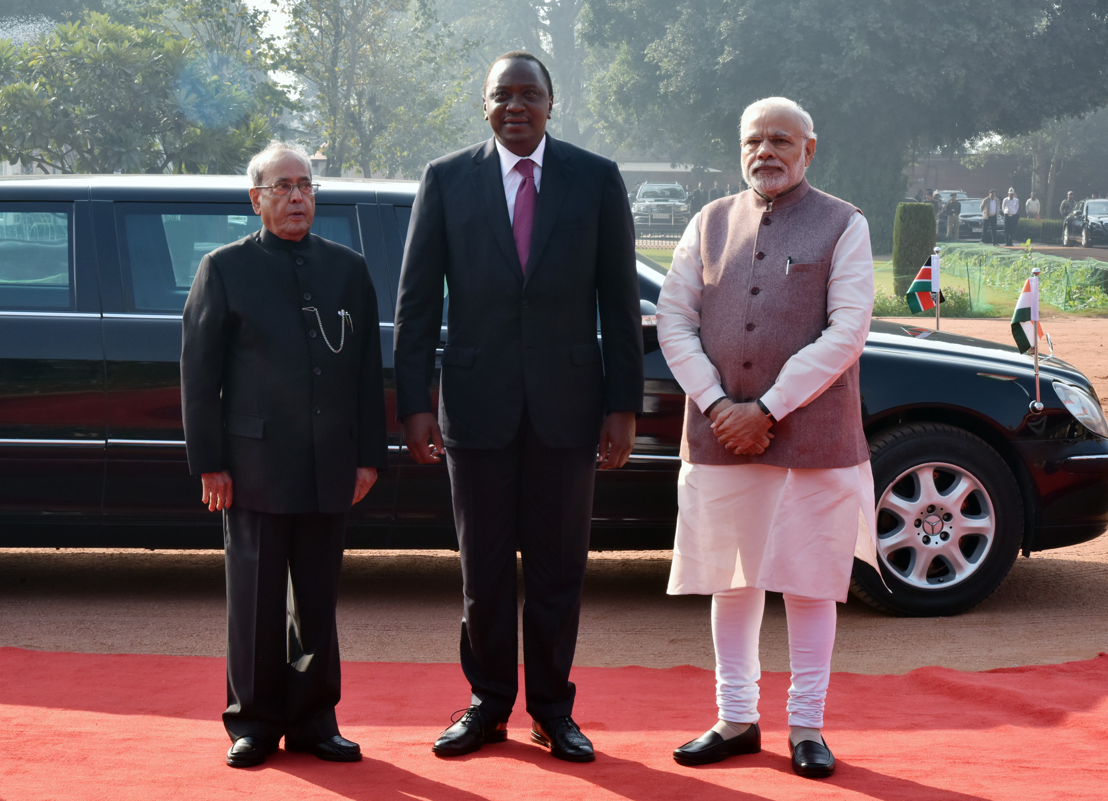 90fa641498a8 Visit of President of Kenya to India (January 10-12