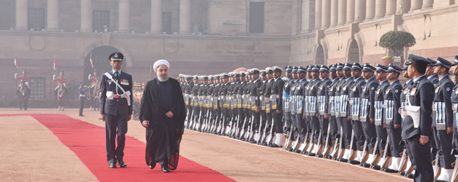 Visit of President of the Islamic Republic of Iran to India (February 15-18, 2018)