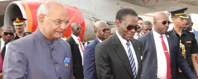 State Visit of the President of India to Equatorial Guinea, Swaziland and Zambia (April 7-12, 2018)