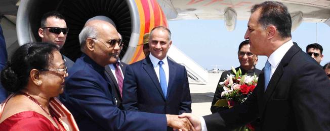 राष्ट्रपति की साइप्रस, बुल्गारिया और चेक गणराज्य की राजकीय यात्रा (सितंबर 02-09, 2018)