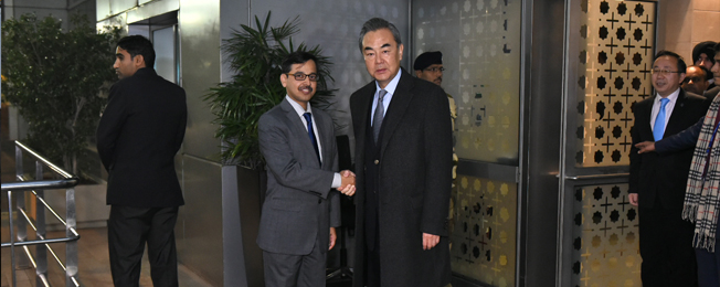 Visit of Minister of Foreign Affairs of People's Republic of China to India (December 21 - 24, 2018)