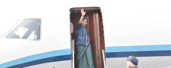 प्रथम भारत-मध्य एशिया वार्ता के लिए विदेश मंत्री की समरकंद, उज्बेकिस्तान की यात्रा (12-13 जनवरी, 2019)