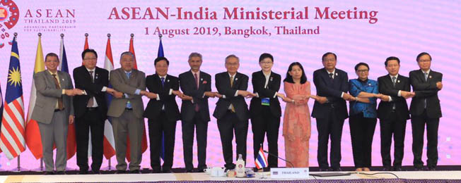 Visit of External Affairs Minister to Bangkok, Thailand (August 1-2, 2019)