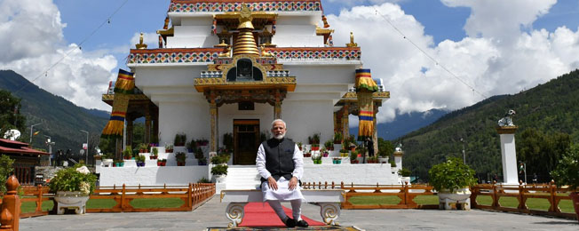 State Visit of Prime Minister to Bhutan (August 17-18, 2019)