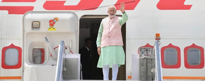 प्रधान मंत्री की फ्रांस, संयुक्त अरब अमीरात और बहरीन की यात्रा (अगस्त 22 - 26, 2019)