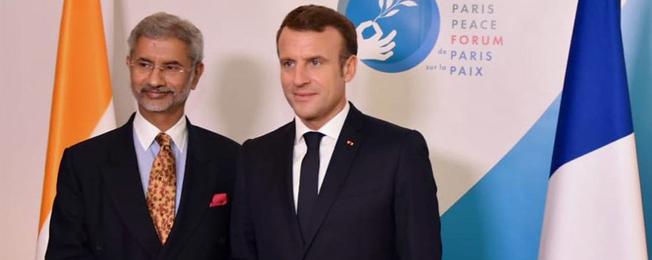 Visit of External Affairs Minister to Paris (11-12 November, 2019)