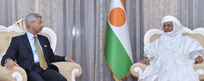 Visit of External Affairs Minister to Republic of Niger (January 20-21, 2020)