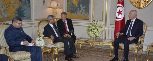 विदेश मंत्री की ट्यूनीशिया की यात्रा (जनवरी 22-23, 2020)