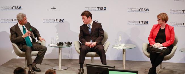 म्यूनिख सुरक्षा सम्मेलन 2020 में भाग लेने के लिए विदेश मंत्री की जर्मनी यात्रा ( फरवरी 14-16, 2020)