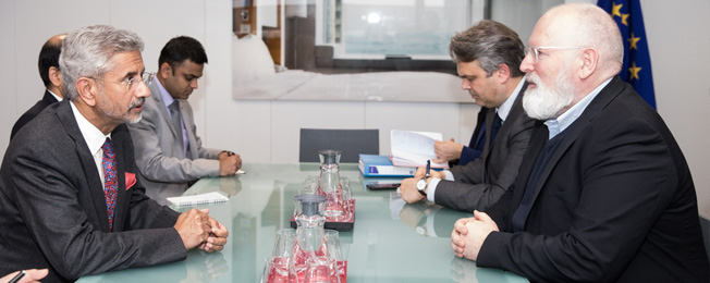 Visit of External Affairs Minister to Belgium to attend European Union Foreign Affairs Council 2020 (February 17, 2020)