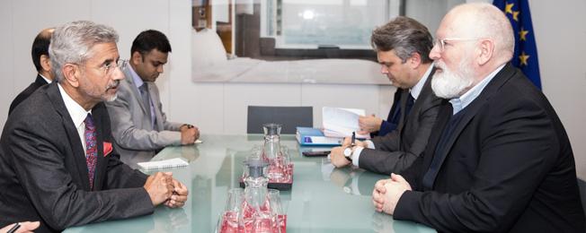 यूरोपियन यूनियन फॉरेन अफेयर्स काउंसिल 2020 में भाग लेने के लिए विदेश मंत्री का बेल्जियम यात्रा (फरवरी 17, 2020)