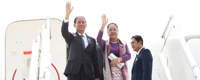 Visit of President of Myanmar to India (February 26-29, 2020)