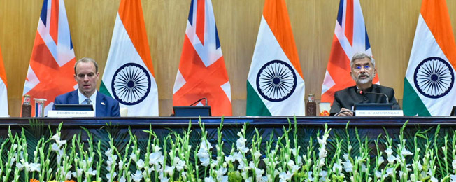 Visit of Foreign Secretary of UK to India (December 14-17, 2020)
