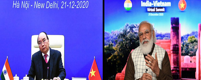 India-Vietnam Virtual Bilateral Summit (December 21, 2020)