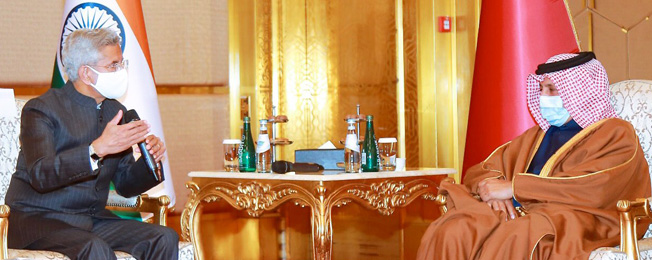 Visit of External Affairs Minister to Qatar (December 27-28, 2020)
