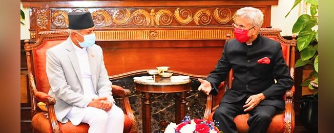 नेपाल के विदेश मंत्री की भारत की आधिकारिक यात्रा (जनवरी 14-16, 2021)