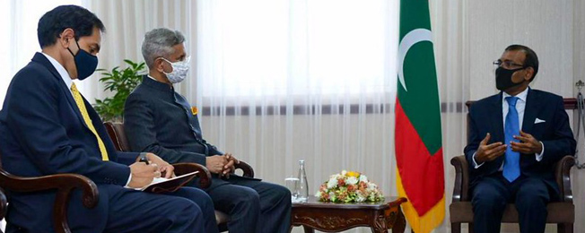 Visit of External Affairs Minister to Maldives and Mauritius (February 20-24, 2021)