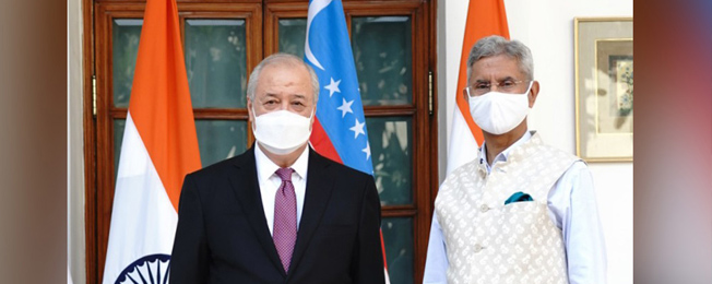 Visit of Minister of Foreign Affairs of The Republic of Uzbekistan to India (February 24-25, 2021)