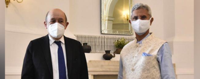 फ्रांस के यूरोप और विदेश मामलों के मंत्री का भारत दौरा (12-16 अप्रैल, 2021)