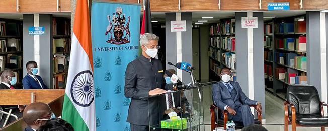 Visit of External Affairs Minister to the Republic of Kenya (June 12-14, 2021)