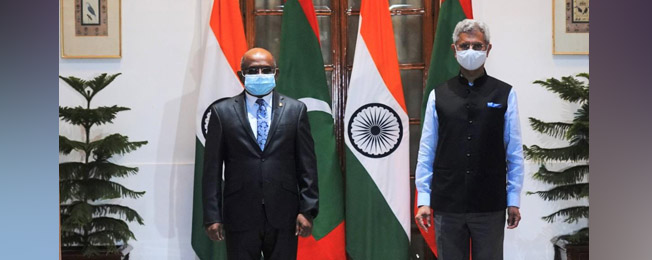 Visit of President-Elect of the 76th General Assembly of the United Nations and Minister of Foreign Affairs of Maldives to India (July 22-24, 2021)