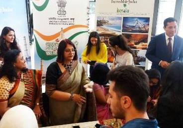 AZERBAIJAN: Embassy of India participated at the 8th International Festival celebrate...