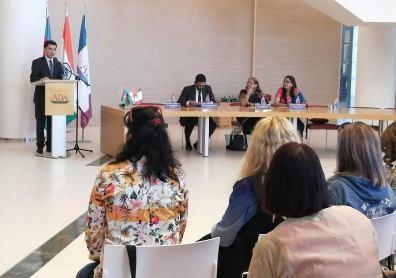 "AZERBAIJAN: ""Tracing Gandhi's Journey Through Clothing"", event organized by..."